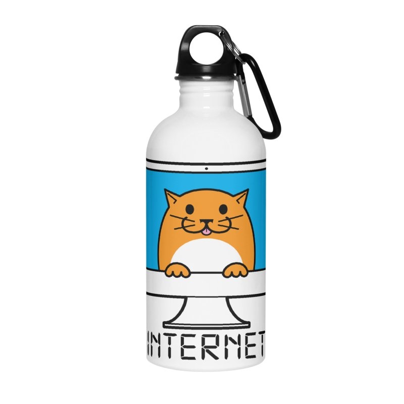The Internet is made of Cats! Accessories Water Bottle by mckibillo's Artist Shop