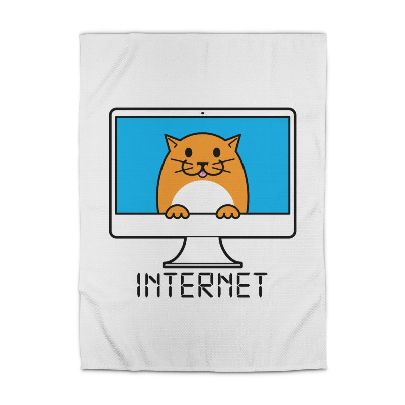 The Internet is made of Cats! Home Rug by mckibillo's Artist Shop