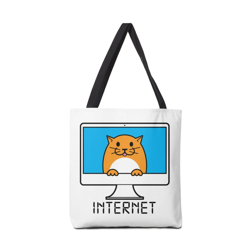 The Internet is made of Cats! Accessories Bag by mckibillo's Artist Shop
