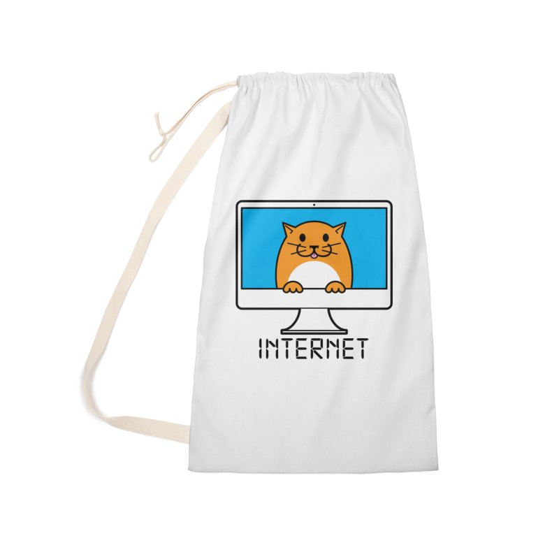 The Internet is made of Cats! Accessories Laundry Bag Bag by mckibillo's Artist Shop