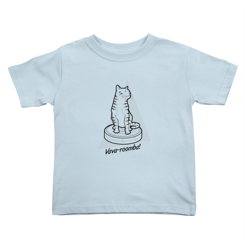 Vava-Roomba! Kids Toddler T-Shirt by mckibillo's Artist Shop