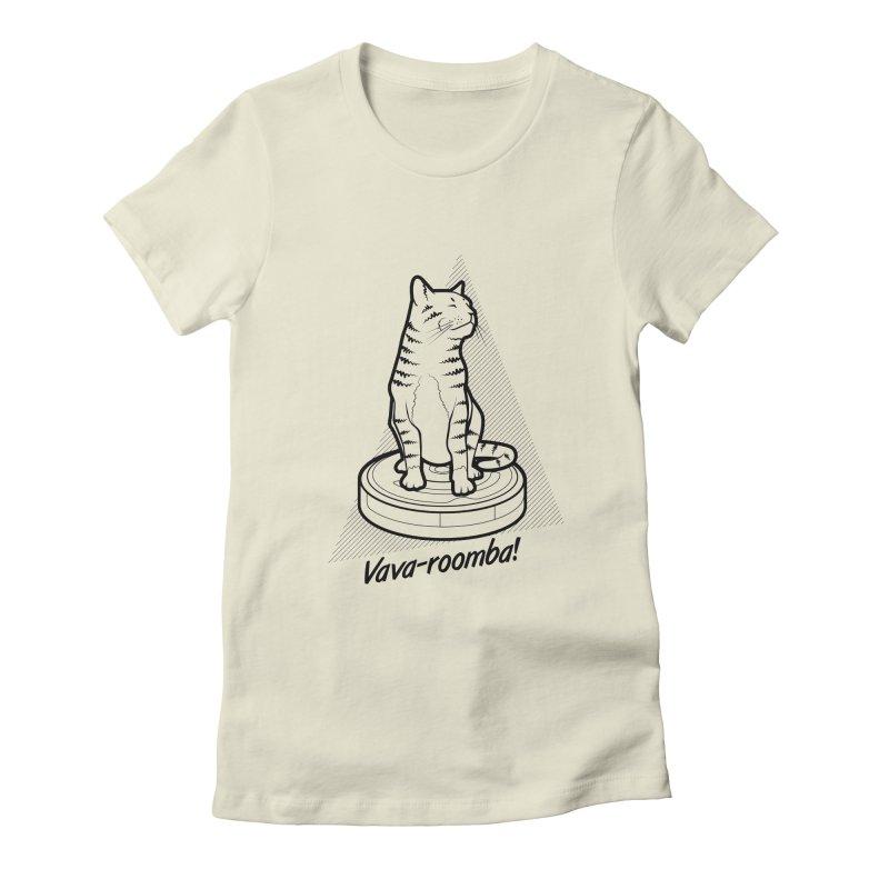 Vava-Roomba! Women's T-Shirt by mckibillo's Artist Shop