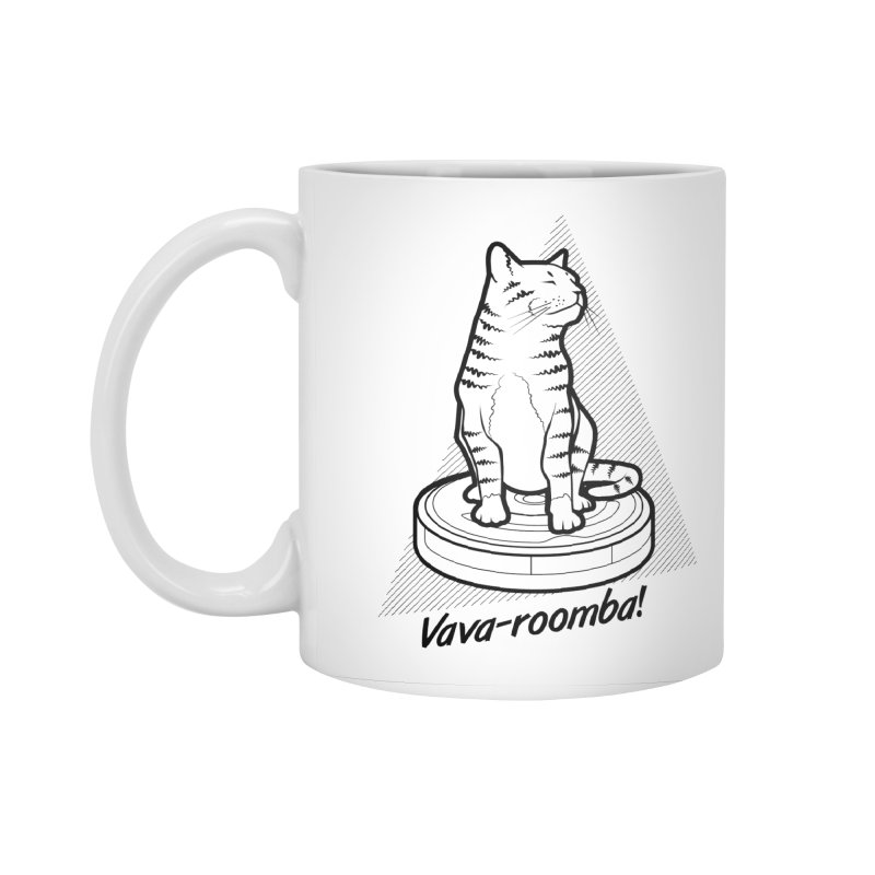 Vava-Roomba! Accessories Standard Mug by mckibillo's Artist Shop
