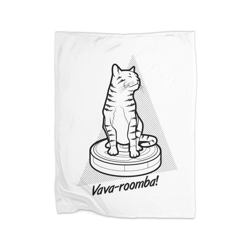 Vava-Roomba! Home Blanket by mckibillo's Artist Shop