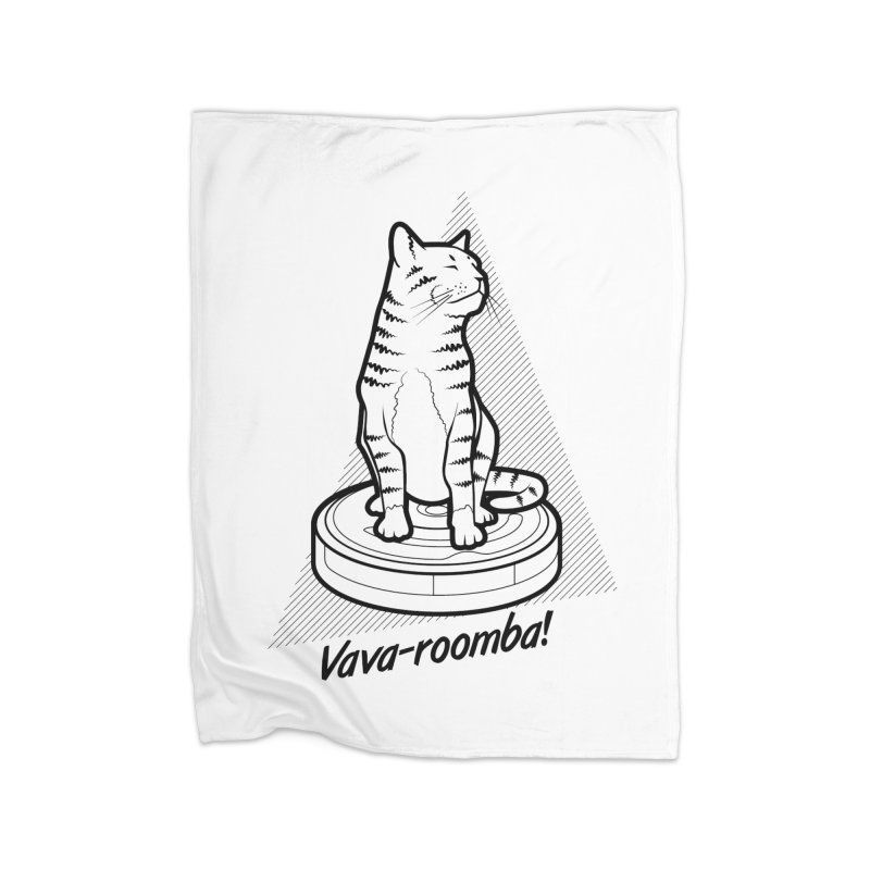 Vava-Roomba! Home Blanket by mckibillo's Artist Shop