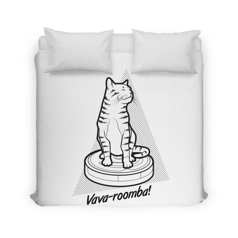Vava-Roomba! Home Duvet by mckibillo's Artist Shop