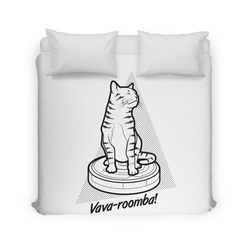 Vava-Roomba! Home Duvet by mckibillo's Artist Shop