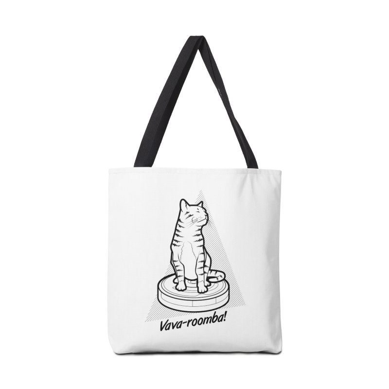 Vava-Roomba! Accessories Tote Bag Bag by mckibillo's Artist Shop