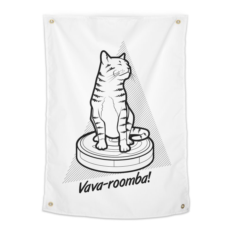 Vava-Roomba! Home  by mckibillo's Artist Shop