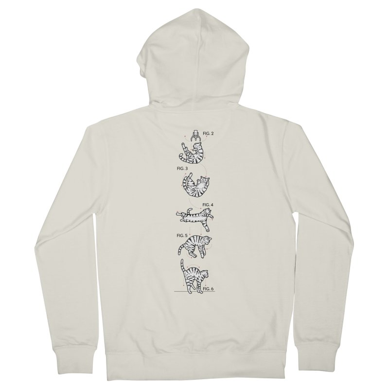 Hang In There! Men's French Terry Zip-Up Hoody by mckibillo's Artist Shop
