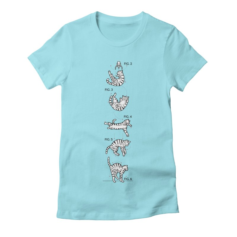Hang In There! Women's Fitted T-Shirt by mckibillo's Artist Shop