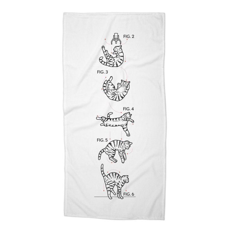 Hang In There! Accessories Beach Towel by mckibillo's Artist Shop