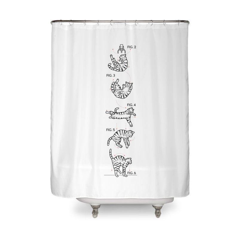 Hang In There! Home Shower Curtain by mckibillo's Artist Shop