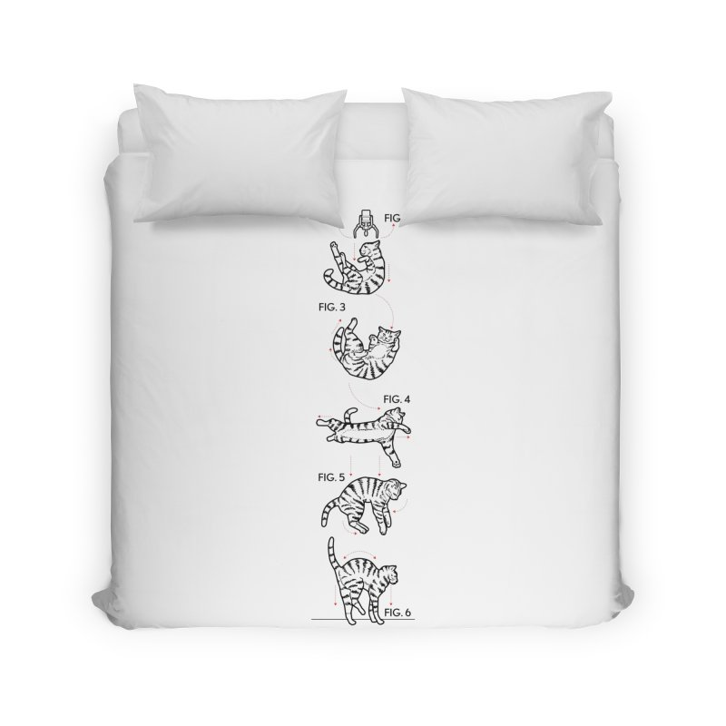 Hang In There! Home Duvet by mckibillo's Artist Shop