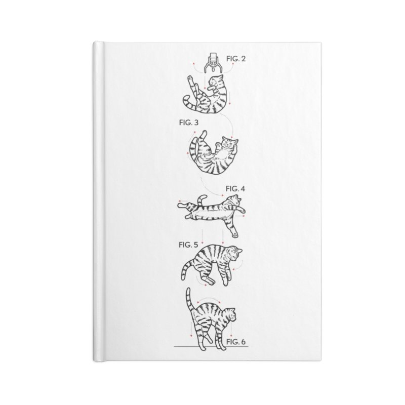 Hang In There! Accessories Notebook by mckibillo's Artist Shop