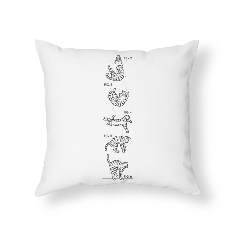 Hang In There! Home Throw Pillow by mckibillo's Artist Shop
