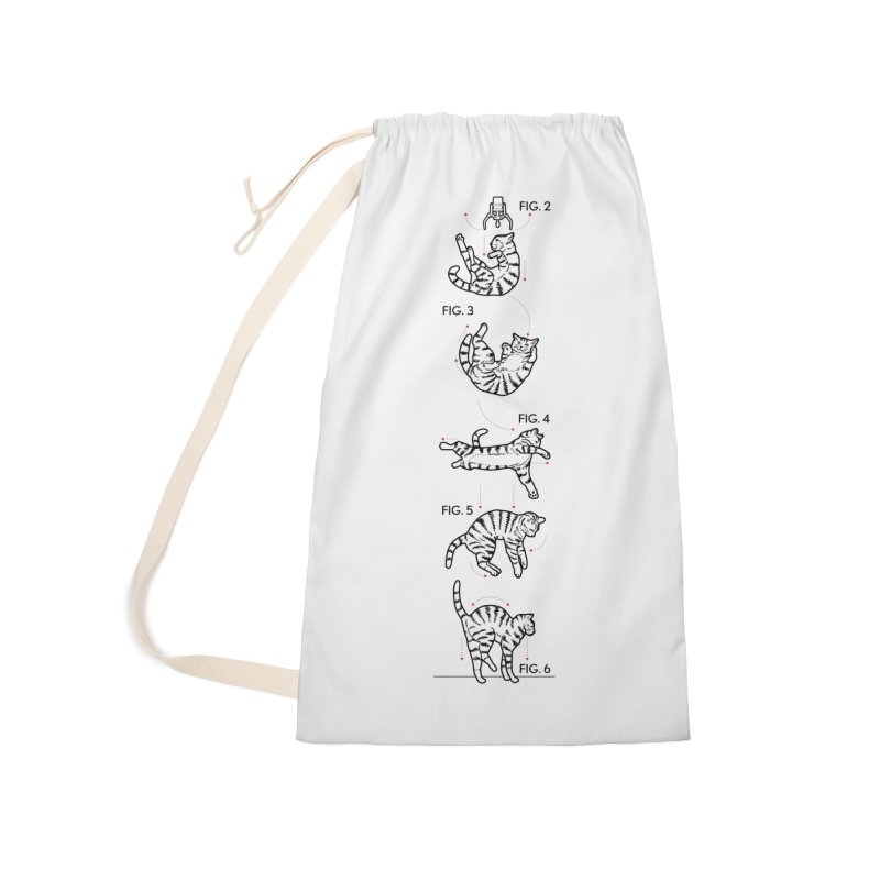 Hang In There! Accessories Laundry Bag Bag by mckibillo's Artist Shop