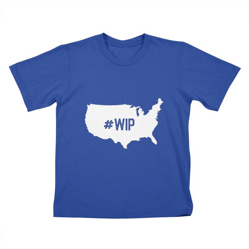 #WIP Kids T-Shirt by mckibillo's Artist Shop