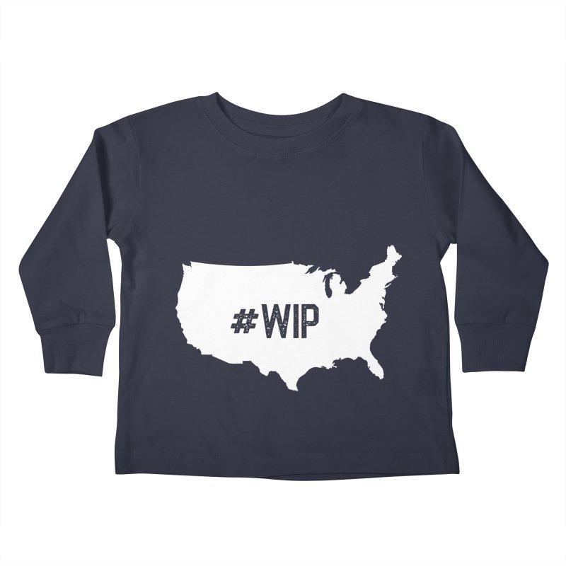 #WIP Kids Toddler Longsleeve T-Shirt by mckibillo's Artist Shop