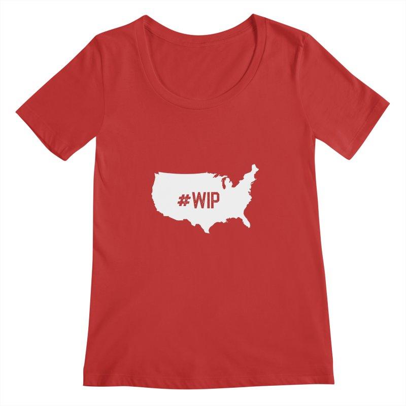 #WIP Women's Scoopneck by mckibillo's Artist Shop