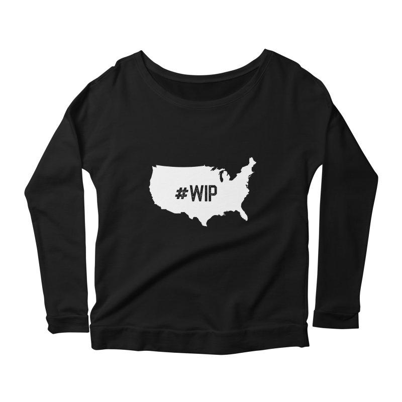 #WIP Women's Longsleeve Scoopneck  by mckibillo's Artist Shop