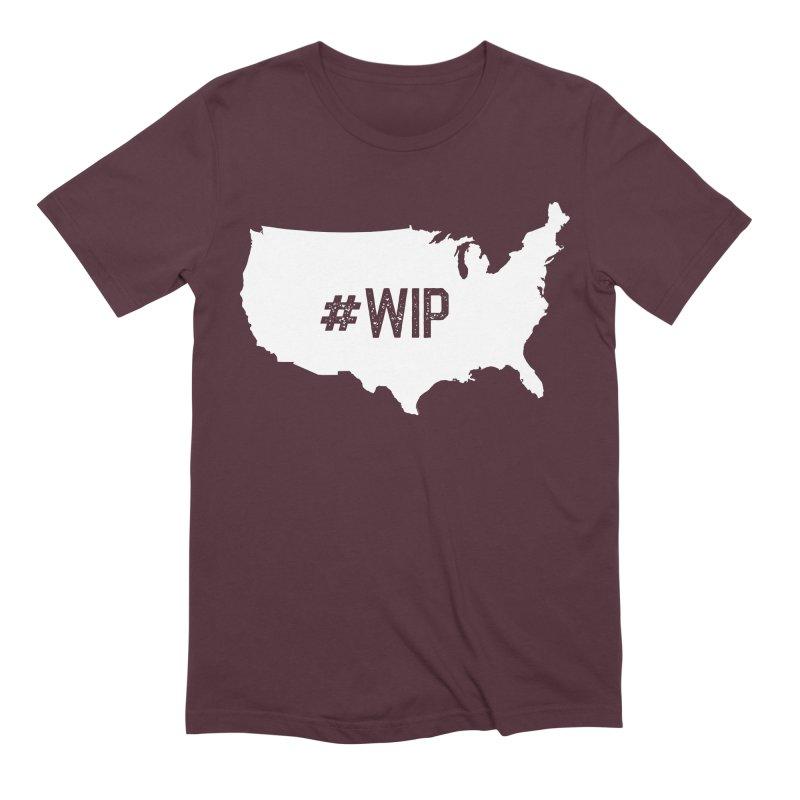 #WIP Men's Extra Soft T-Shirt by mckibillo's Artist Shop