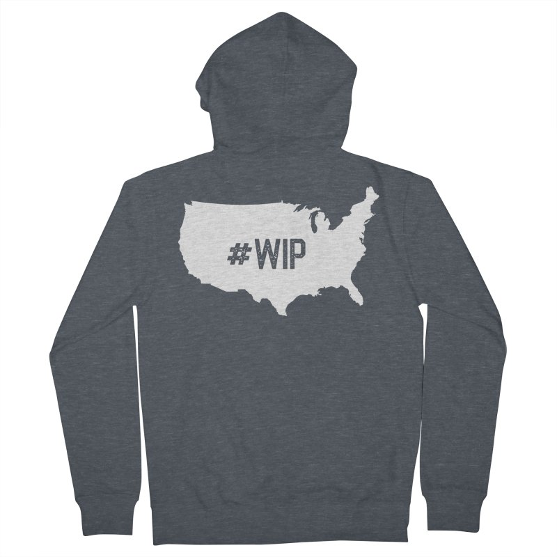 #WIP Women's French Terry Zip-Up Hoody by mckibillo's Artist Shop