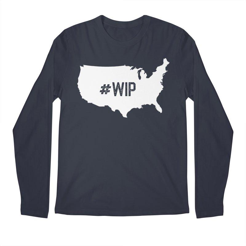 #WIP Men's Longsleeve T-Shirt by mckibillo's Artist Shop