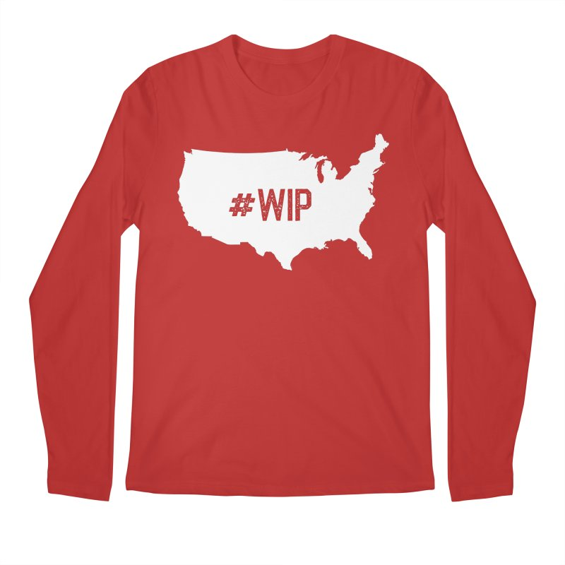 #WIP Men's Regular Longsleeve T-Shirt by mckibillo's Artist Shop