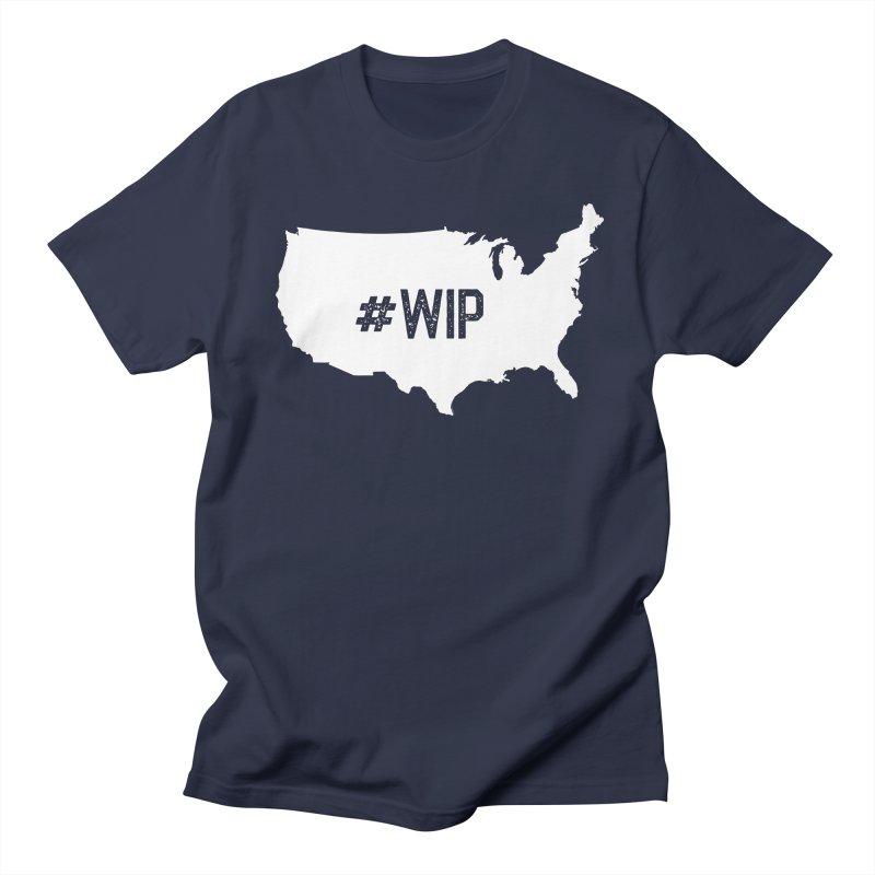 #WIP Men's Regular T-Shirt by mckibillo's Artist Shop