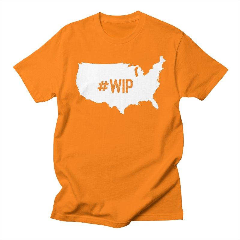 #WIP Women's Regular Unisex T-Shirt by mckibillo's Artist Shop