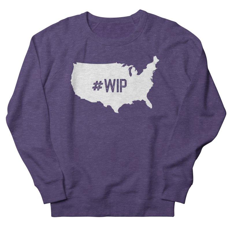 #WIP Men's French Terry Sweatshirt by mckibillo's Artist Shop