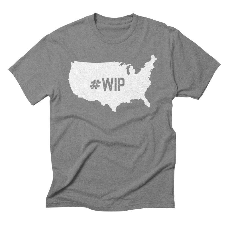 #WIP Men's Triblend T-Shirt by mckibillo's Artist Shop