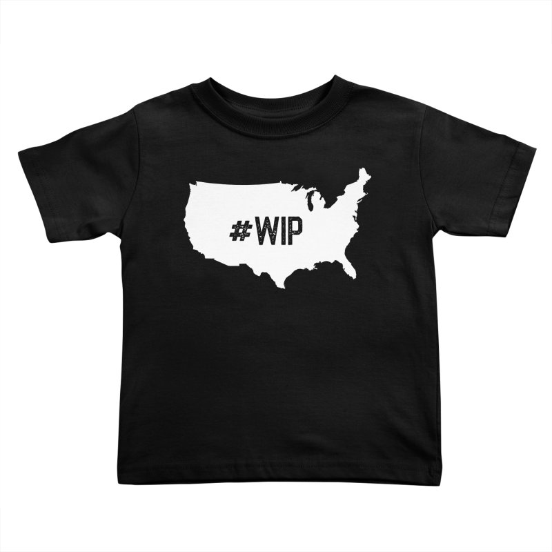 #WIP Kids Toddler T-Shirt by mckibillo's Artist Shop