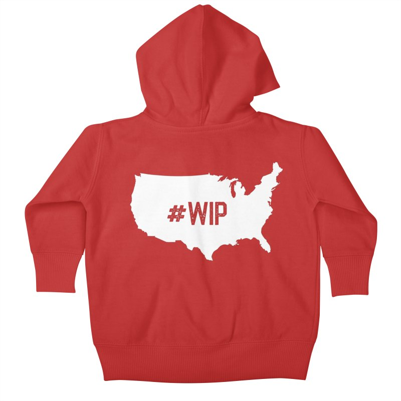 #WIP Kids Baby Zip-Up Hoody by mckibillo's Artist Shop