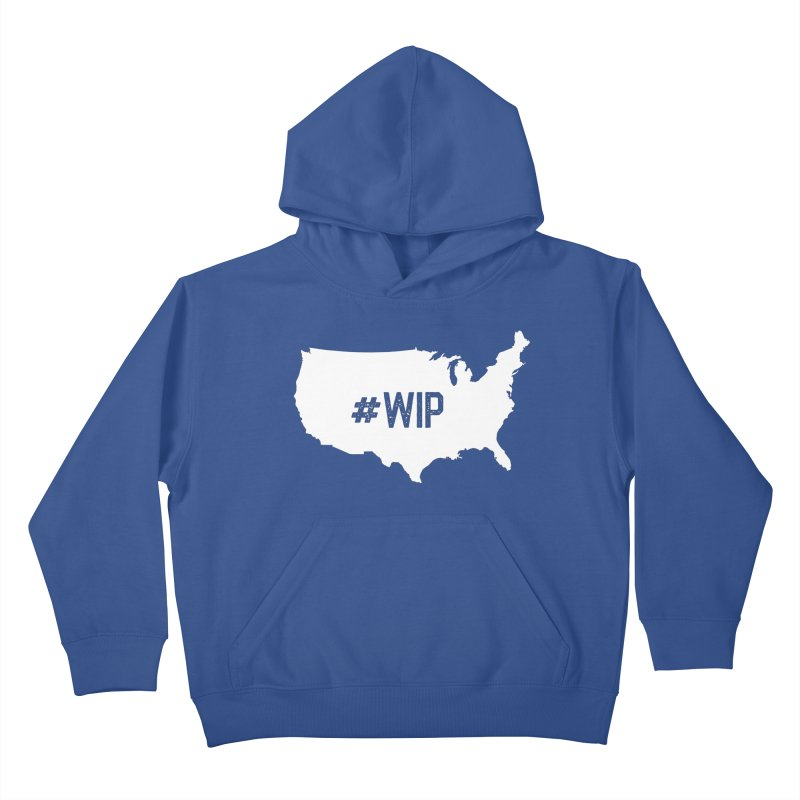 #WIP Kids Pullover Hoody by mckibillo's Artist Shop