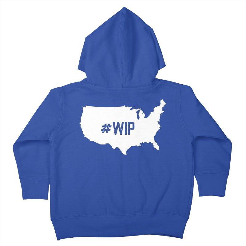 #WIP Kids Toddler Zip-Up Hoody by mckibillo's Artist Shop
