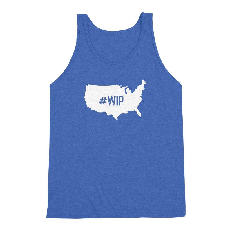 #WIP Men's Triblend Tank by mckibillo's Artist Shop
