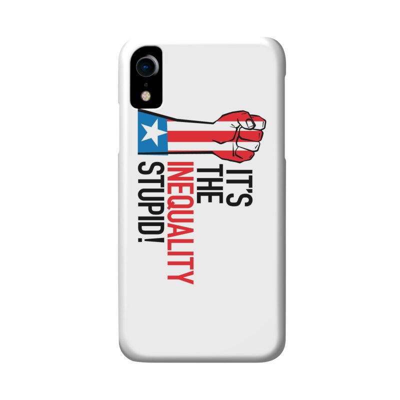 Inequality Accessories Phone Case by mckibillo's Artist Shop