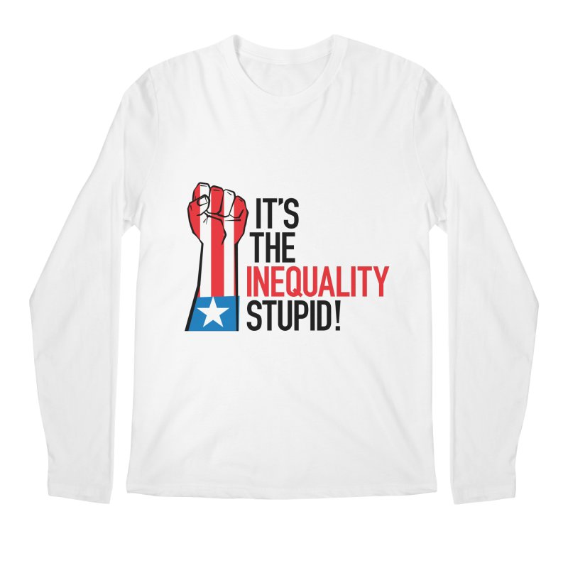 Inequality Men's Regular Longsleeve T-Shirt by mckibillo's Artist Shop