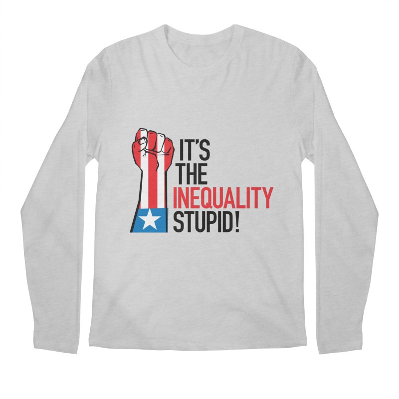 Inequality Men's Regular Longsleeve T-Shirt by mckibillo's Artist Shop