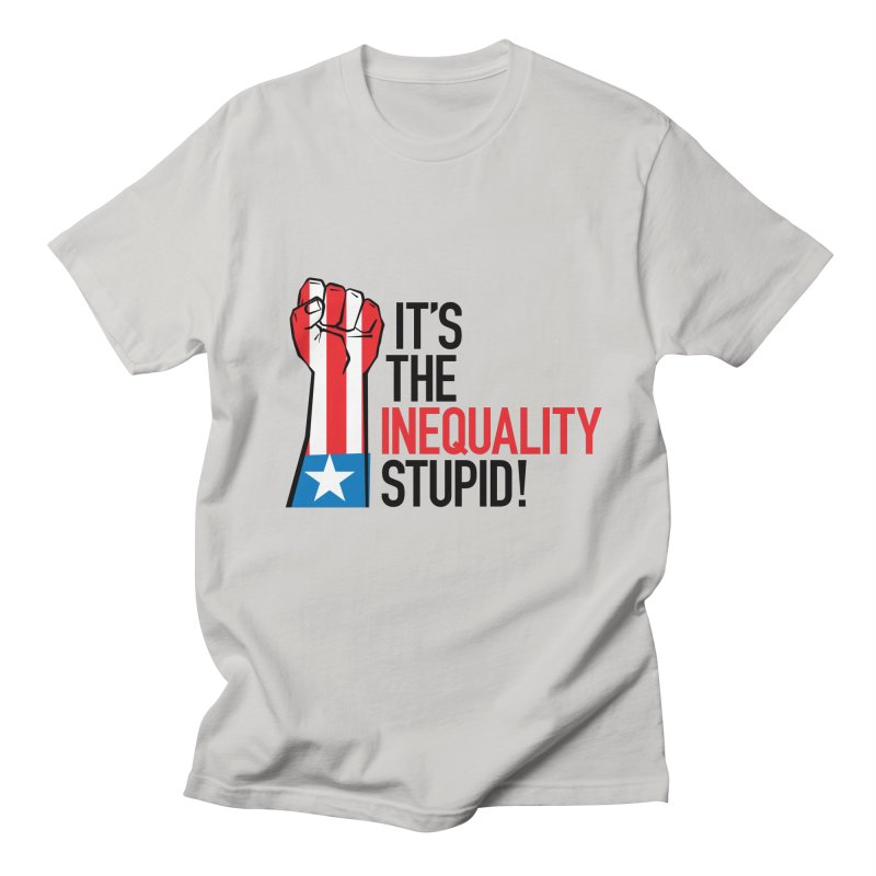 Inequality Men's T-Shirt by mckibillo's Artist Shop