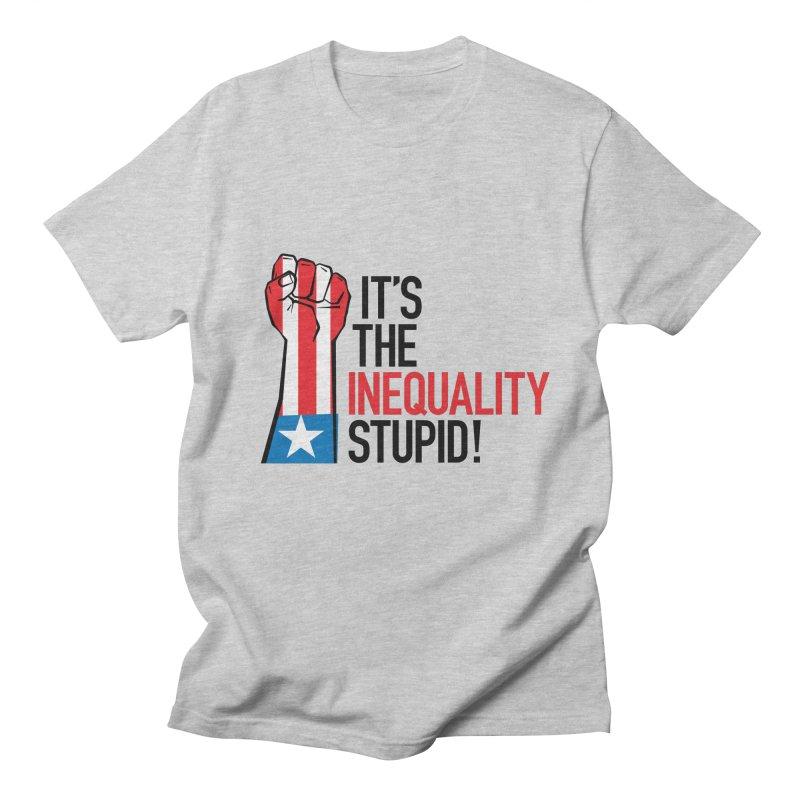 Inequality Men's Regular T-Shirt by mckibillo's Artist Shop