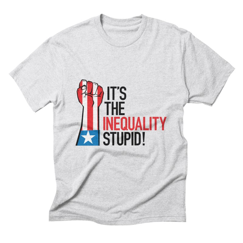 Inequality Men's Triblend T-Shirt by mckibillo's Artist Shop