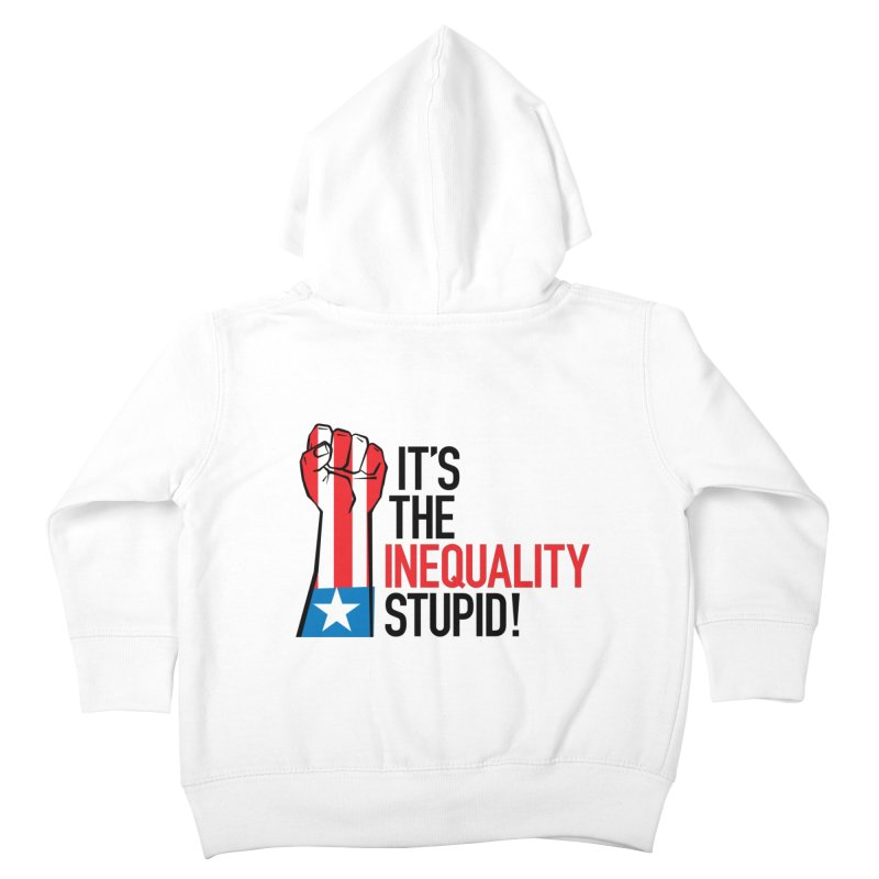 Inequality Kids Toddler Zip-Up Hoody by mckibillo's Artist Shop