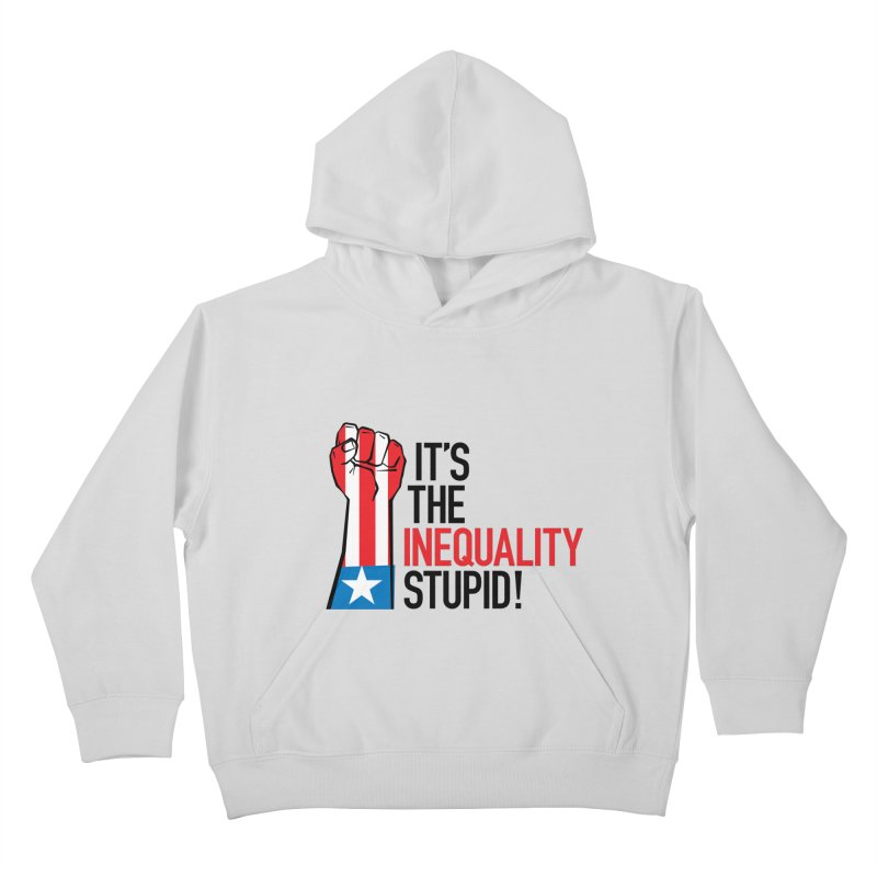 Inequality Kids Pullover Hoody by mckibillo's Artist Shop