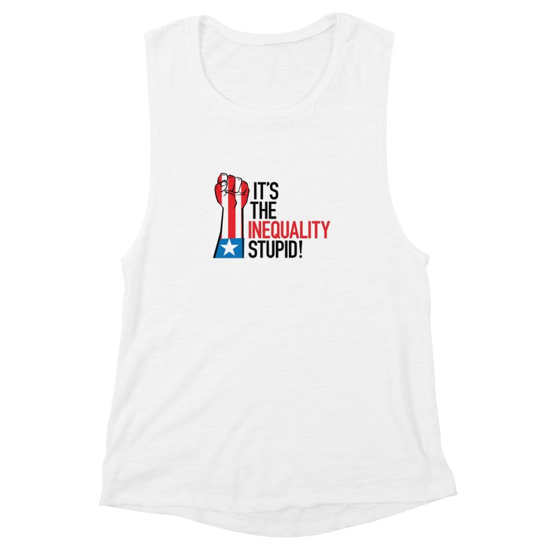 Inequality Women's Muscle Tank by mckibillo's Artist Shop