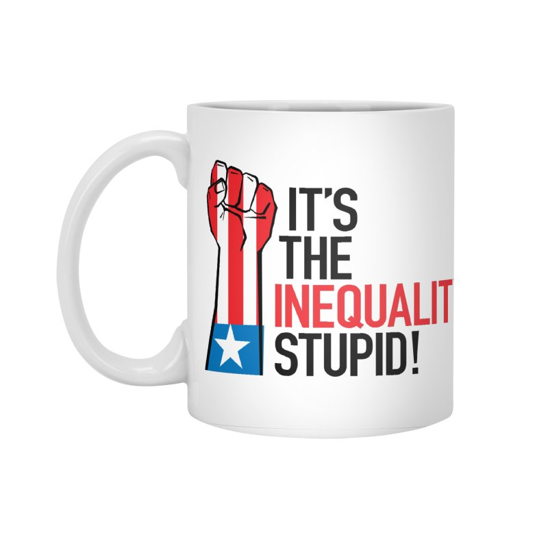 Inequality Accessories Standard Mug by mckibillo's Artist Shop