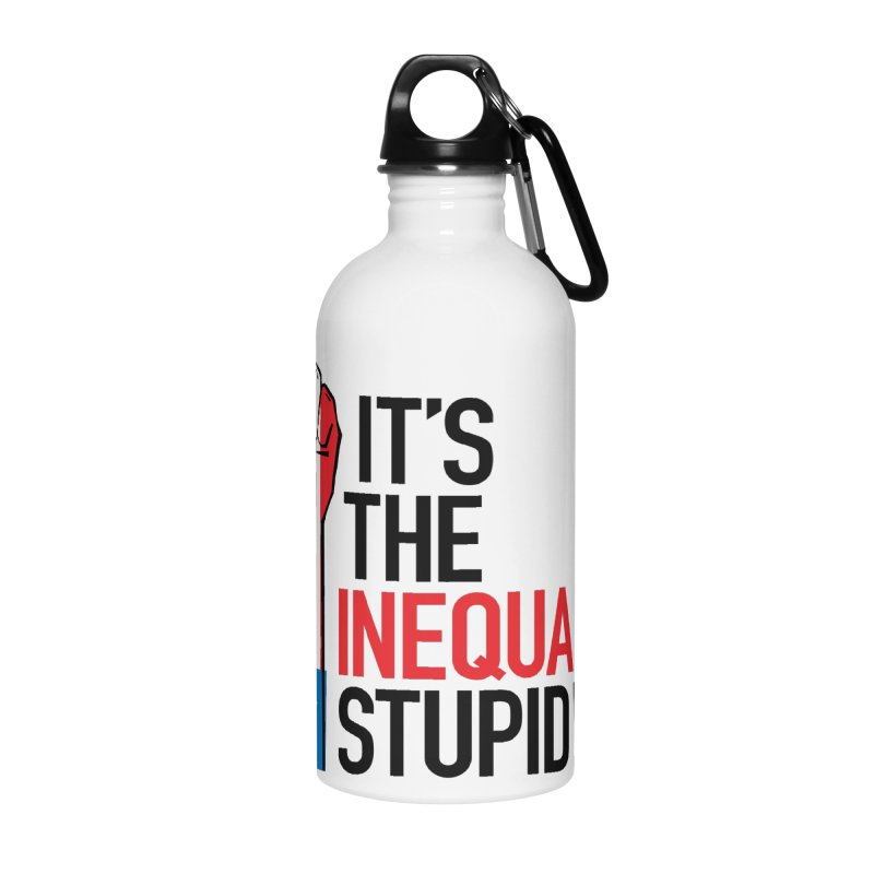 Inequality Accessories Water Bottle by mckibillo's Artist Shop