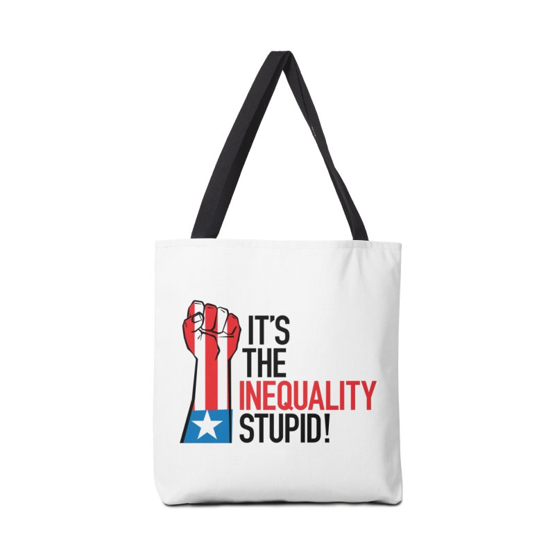 Inequality Accessories Tote Bag Bag by mckibillo's Artist Shop